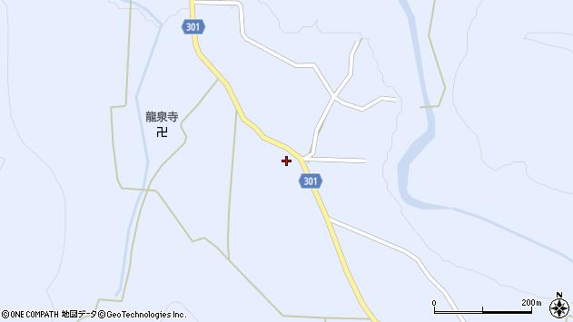 山形県尾花沢市鶴子433周辺の地図