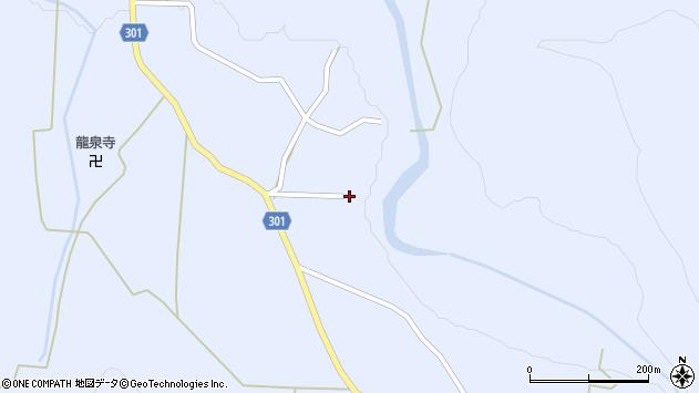 山形県尾花沢市鶴子511周辺の地図