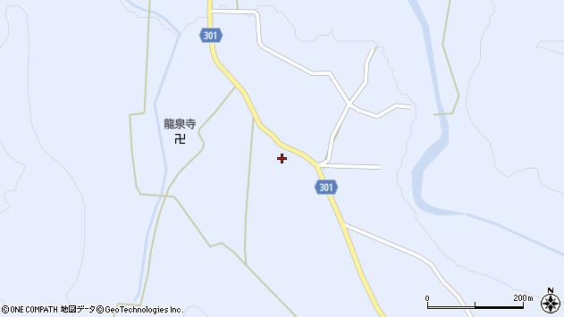 山形県尾花沢市鶴子434周辺の地図