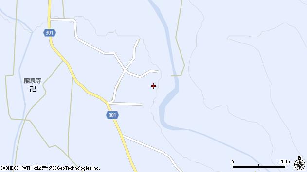 山形県尾花沢市鶴子508周辺の地図