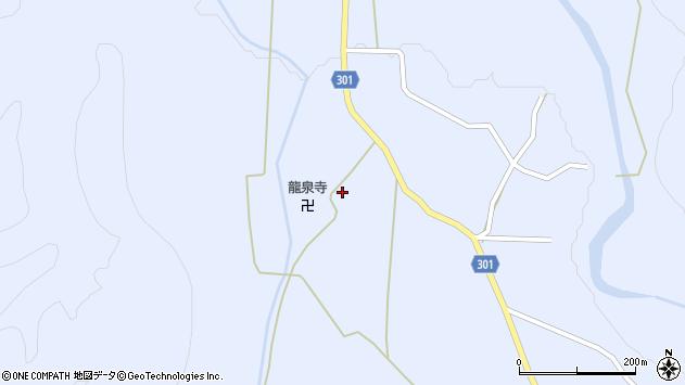山形県尾花沢市鶴子414周辺の地図