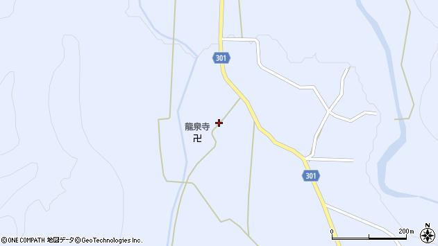 山形県尾花沢市鶴子409周辺の地図