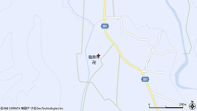 山形県尾花沢市鶴子411周辺の地図