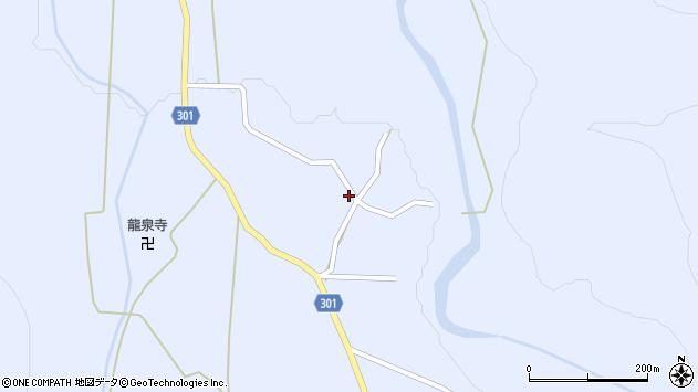 山形県尾花沢市鶴子544周辺の地図