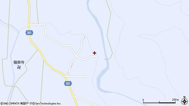 山形県尾花沢市鶴子528周辺の地図