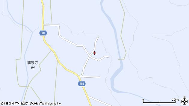 山形県尾花沢市鶴子536周辺の地図