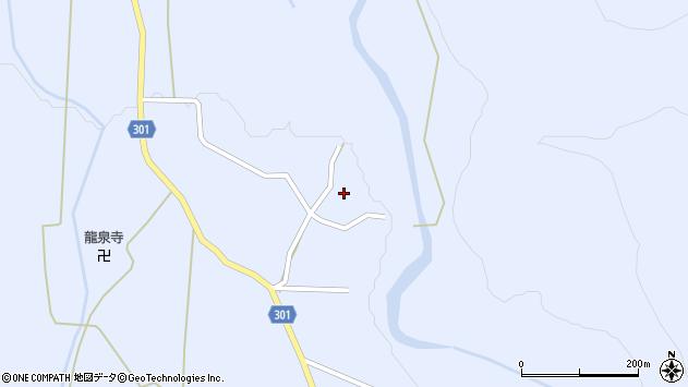 山形県尾花沢市鶴子537周辺の地図