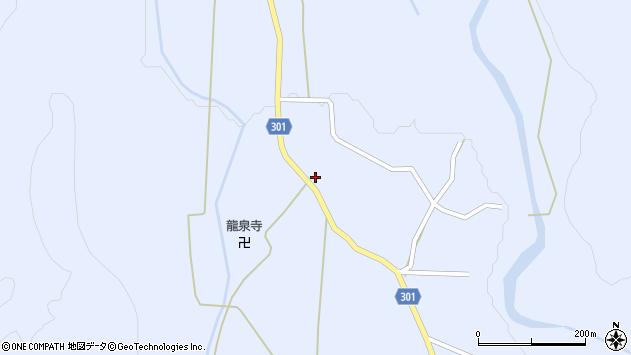 山形県尾花沢市鶴子441周辺の地図