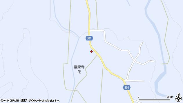 山形県尾花沢市鶴子405周辺の地図