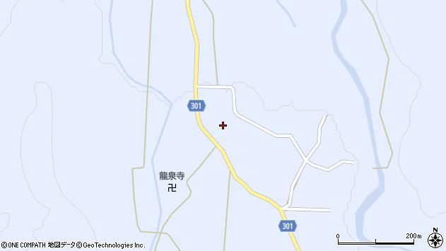 山形県尾花沢市鶴子444周辺の地図