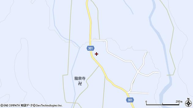 山形県尾花沢市鶴子451周辺の地図