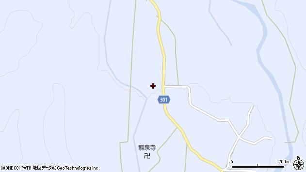山形県尾花沢市鶴子443周辺の地図