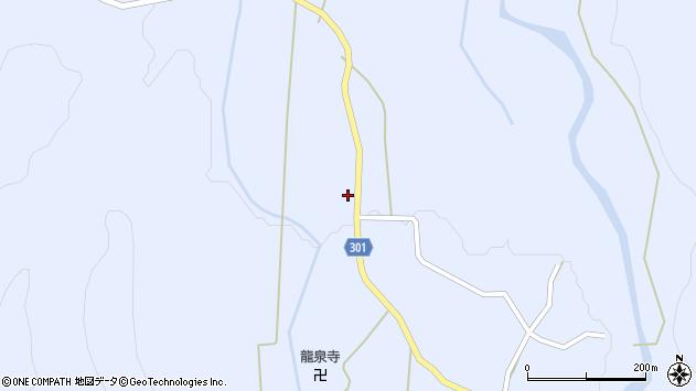 山形県尾花沢市鶴子346周辺の地図