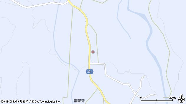 山形県尾花沢市鶴子345周辺の地図