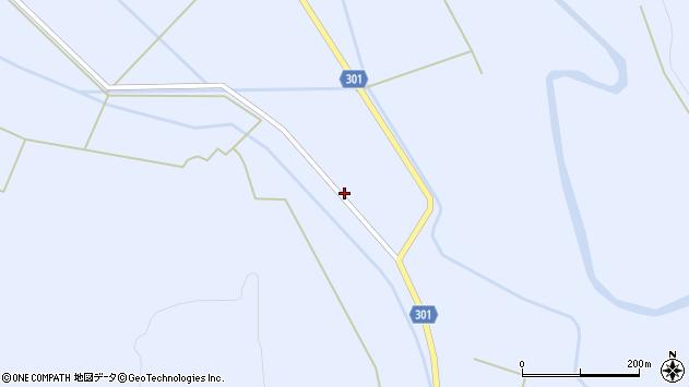 山形県尾花沢市鶴子407周辺の地図