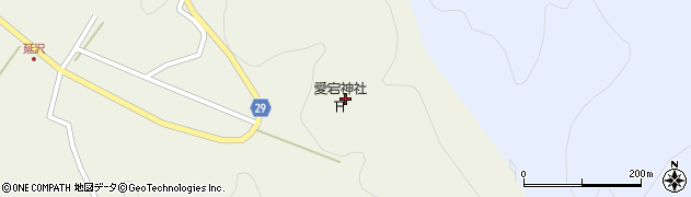 山形県尾花沢市延沢2870周辺の地図