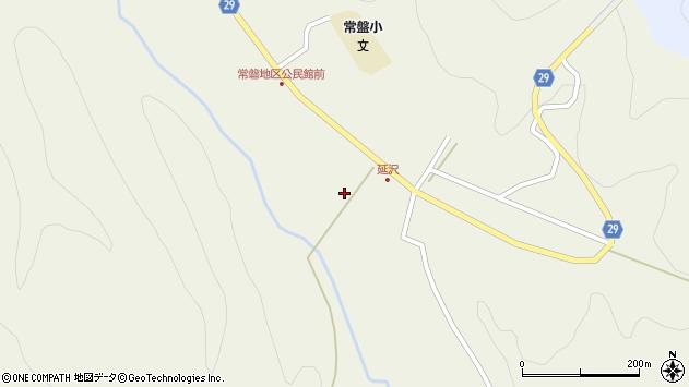 山形県尾花沢市延沢719周辺の地図