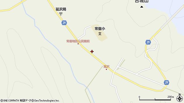 山形県尾花沢市延沢803周辺の地図