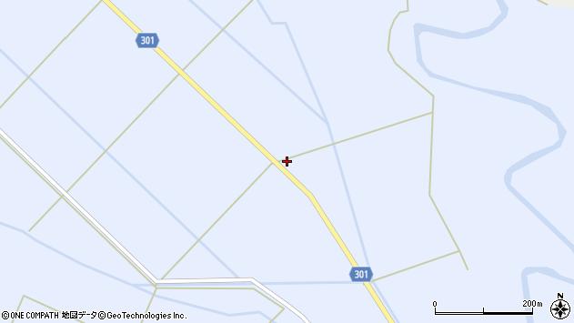 山形県尾花沢市鶴子113周辺の地図