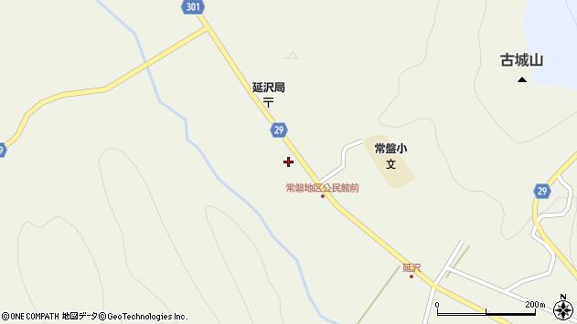 山形県尾花沢市延沢985周辺の地図