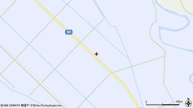 山形県尾花沢市鶴子146周辺の地図
