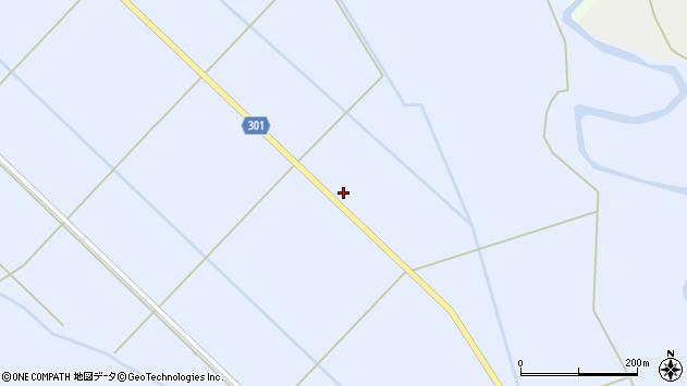 山形県尾花沢市鶴子148周辺の地図