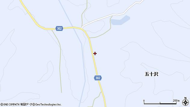 山形県尾花沢市五十沢450周辺の地図