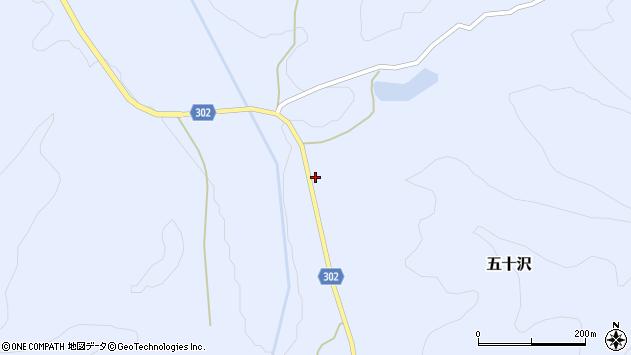 山形県尾花沢市五十沢448周辺の地図