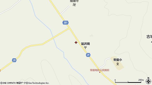 山形県尾花沢市延沢968周辺の地図