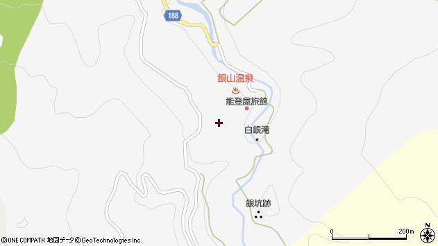 山形県尾花沢市銀山新畑中山522周辺の地図