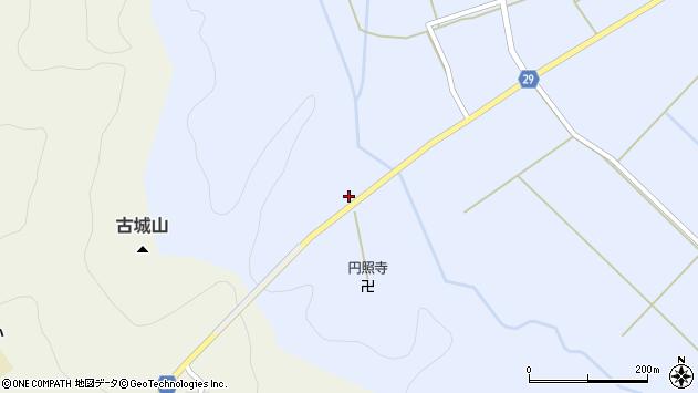 山形県尾花沢市延沢862周辺の地図