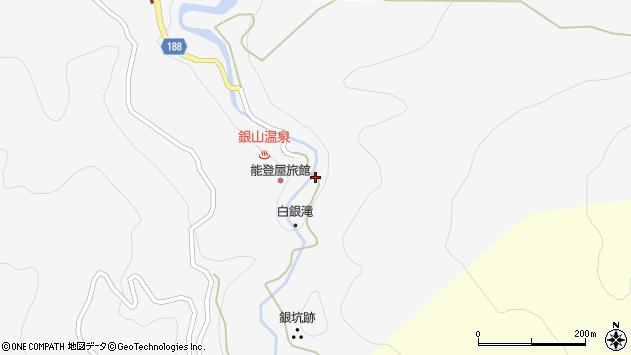 山形県尾花沢市銀山新畑455周辺の地図