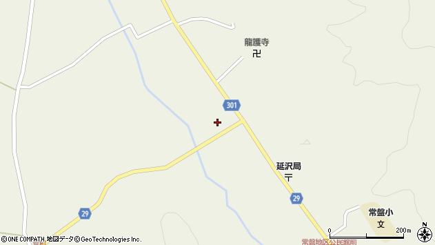 山形県尾花沢市延沢1018周辺の地図