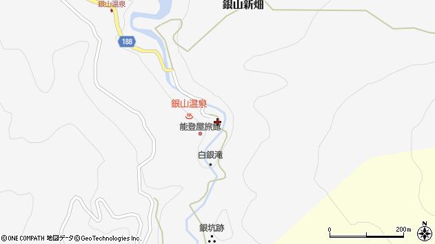 山形県尾花沢市銀山新畑450周辺の地図
