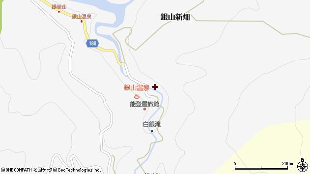 山形県尾花沢市銀山新畑410周辺の地図