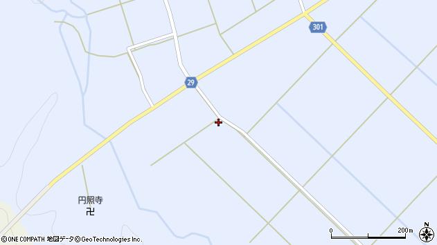 山形県尾花沢市六沢699周辺の地図