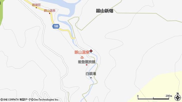 山形県尾花沢市銀山新畑411周辺の地図