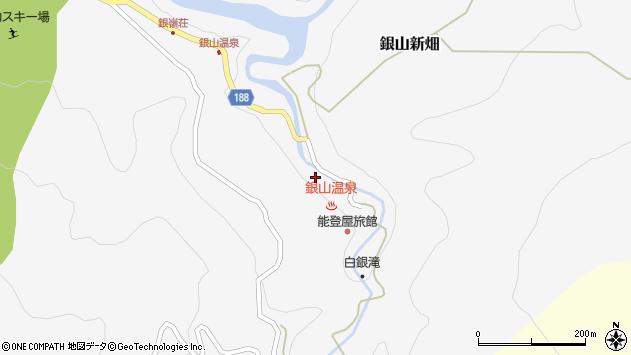 山形県尾花沢市銀山新畑441周辺の地図