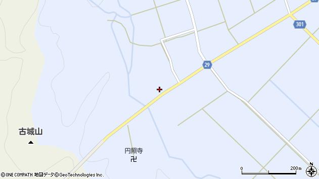山形県尾花沢市六沢228周辺の地図