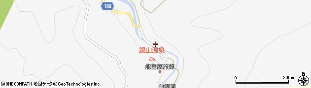 山形県尾花沢市銀山新畑417周辺の地図