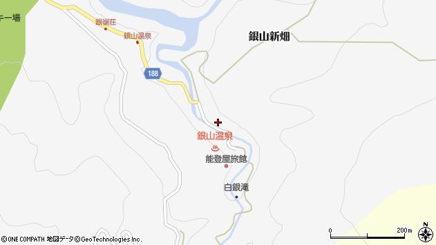山形県尾花沢市銀山新畑420周辺の地図