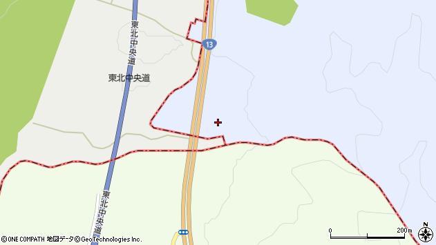 山形県尾花沢市五十沢18周辺の地図