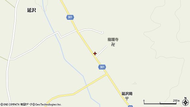 山形県尾花沢市延沢927周辺の地図