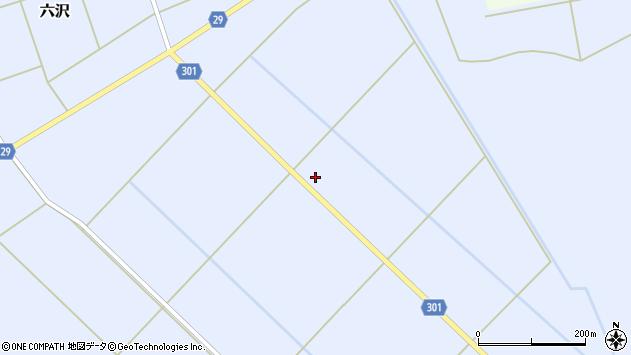 山形県尾花沢市六沢327周辺の地図
