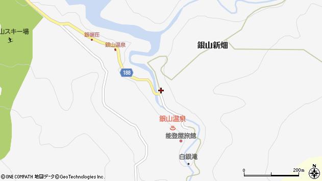 山形県尾花沢市銀山新畑429周辺の地図