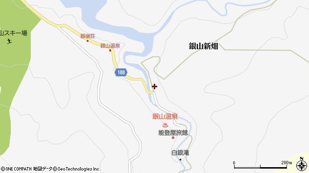 山形県尾花沢市銀山新畑430周辺の地図