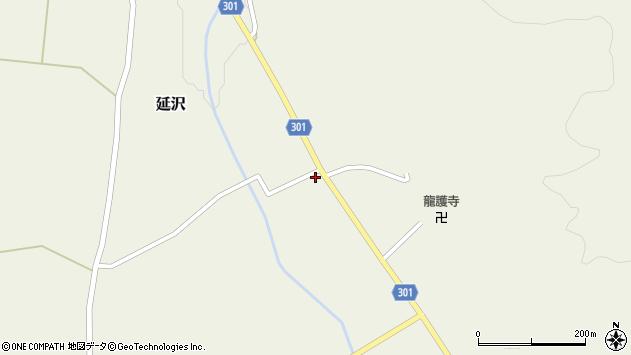 山形県尾花沢市延沢949周辺の地図