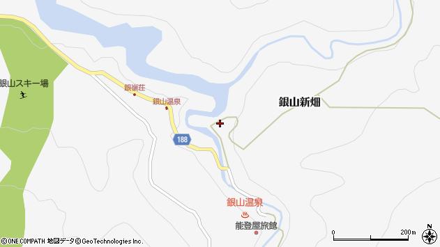 山形県尾花沢市銀山新畑464周辺の地図