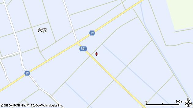 山形県尾花沢市六沢341周辺の地図