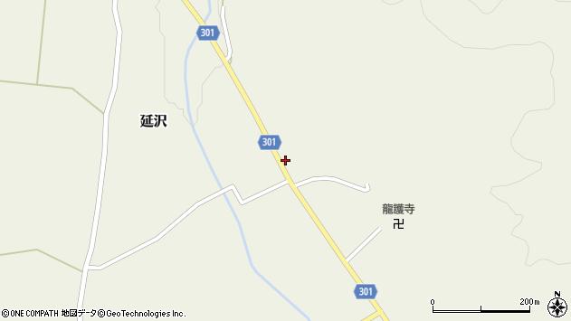 山形県尾花沢市延沢940周辺の地図